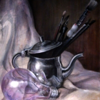 Bulb and Kettle by Ruth Israel