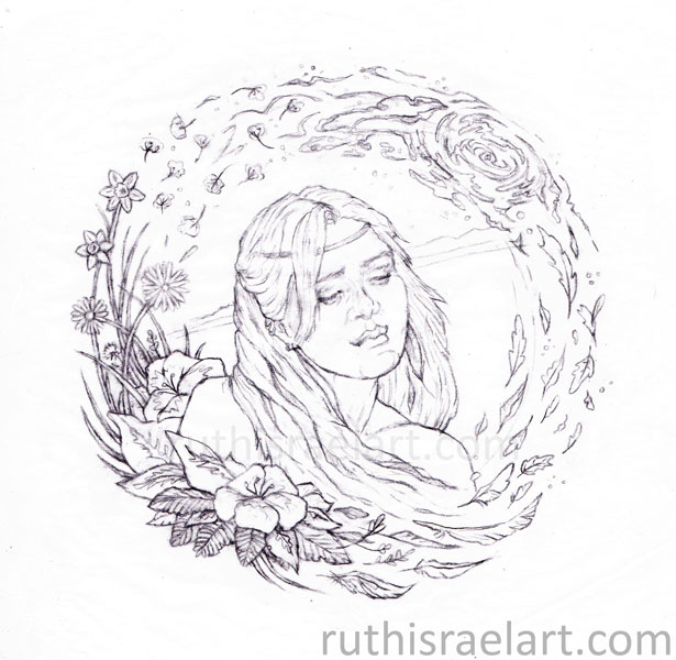 Line Drawing Nature : Illustrative fine art ruth israel entries from the artist